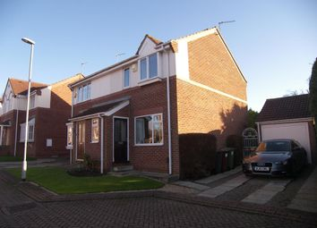 Thumbnail 2 bed semi-detached house for sale in The Wickets, Meanwood, Leeds