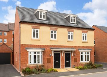 "Thumbnail 3 bed semi-detached house for sale in ""Kennett"" at Park View, Moulton, Northampton"