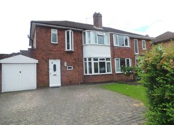 Thumbnail Semi-detached house for sale in Rosslyn Road, Sutton Coldfield