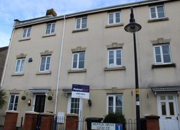 Thumbnail 4 bed terraced house for sale in Merton Drive, Weston-Super-Mare