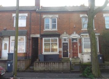 Thumbnail 2 bedroom terraced house for sale in Oxhill Road, Handsworth, Birmingham