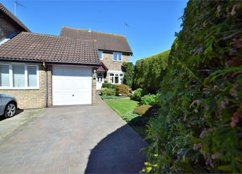 Thumbnail 3 bed detached house for sale in Wedmore Close, Northampton