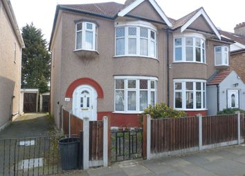 Thumbnail 3 bed semi-detached house for sale in Donnington Avenue, Barkingside