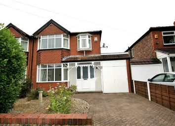 Thumbnail 3 bedroom semi-detached house for sale in Penrith Avenue, Whitefield, Manchester