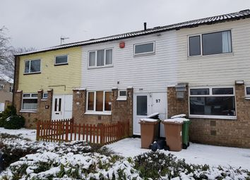 Thumbnail 3 bed terraced house for sale in Norburn, Bretton, Peterborough