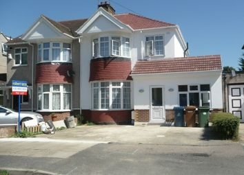 Thumbnail 4 bed semi-detached house to rent in Lancaster Road, North Harrow