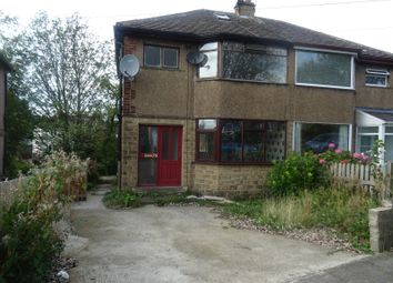 Thumbnail 3 bed semi-detached house to rent in Kingsdale Crescent, Bradford 2, West Yorkshire
