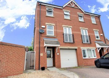 Thumbnail 3 bed semi-detached house for sale in Stukeley Close, Lincoln