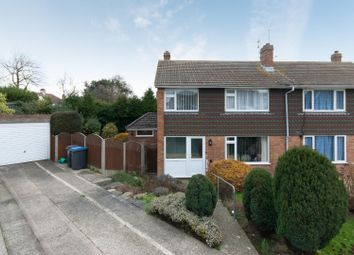 Thumbnail 3 bedroom semi-detached house for sale in Lister Close, Deal
