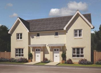 "Thumbnail 3 bedroom semi-detached house for sale in ""Craigend"" at Oldmeldrum Road, Inverurie"