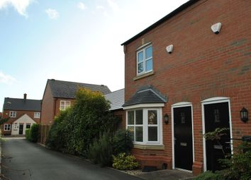 Thumbnail 2 bedroom end terrace house to rent in Dickins Meadow, Wem, Shropshire