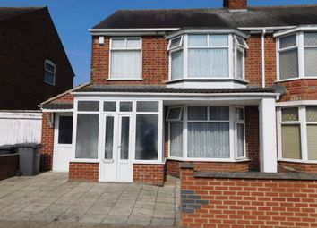 Thumbnail 3 bedroom semi-detached house for sale in Evington, Leicester