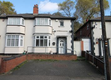 Thumbnail 3 bed semi-detached house for sale in South Road, Hockley, Birmingham