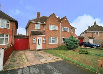 Thumbnail 3 bed semi-detached house for sale in Barngate Close, Birstall, Leicester