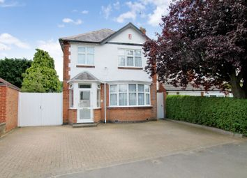 Thumbnail 5 bedroom detached house for sale in Carisbrooke Road, Knighton, Leicester