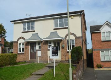 Thumbnail 2 bed semi-detached house for sale in Eleanors Close, Aqueduct, Telford, Shropshire.
