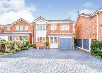 Thumbnail 5 bed detached house for sale in St. Catharines Close, Walsall