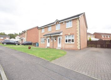 Thumbnail 3 bed semi-detached house for sale in Balfron Drive, Coatbridge