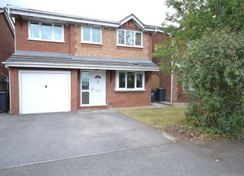 Thumbnail 4 bed detached house for sale in Friesian Gardens, Newcastle-Under-Lyme