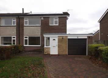 Thumbnail Semi-detached house for sale in Mitford Way, Dinnington, Newcastle Upon Tyne, Tyne And Wear