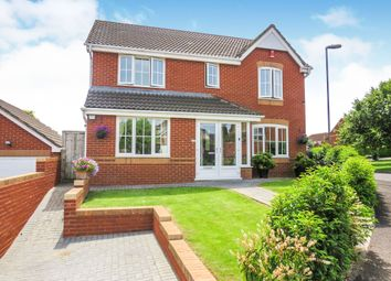 Thumbnail 4 bedroom detached house for sale in Windsor Close, Cullompton