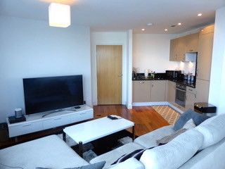 Thumbnail 2 bed flat to rent in Marina Point East, Dock Heath Road, Chatham, Kent