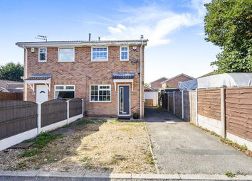 Thumbnail 2 bed semi-detached house for sale in Hilderstone Close, Alvaston, Derby