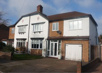 Thumbnail 4 bed semi-detached house for sale in Sackville Avenue, Hayes, Bromley