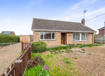 Thumbnail 3 bed detached bungalow for sale in Church Road, Wisbech St. Mary, Wisbech
