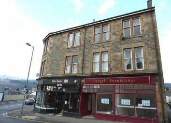 Thumbnail 1 bed flat for sale in Auchamore Road, Dunoon, Argyll