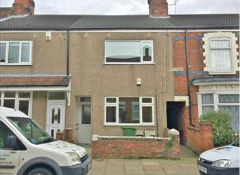 Thumbnail 1 bed flat to rent in Rowston Street, Cleethorpes
