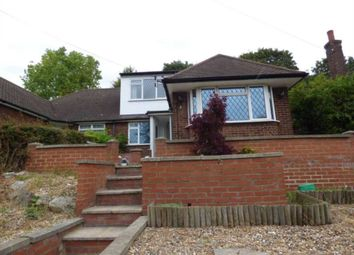 Thumbnail 3 bed semi-detached bungalow to rent in Falconers Road, Luton