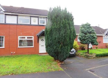 Thumbnail 3 bed semi-detached house for sale in Shirebrook Drive, Radcliffe, Manchester