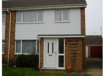 Thumbnail 3 bed semi-detached house to rent in Blanford Walk, Off Histon Road, Cambridge