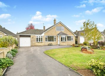 Thumbnail 4 bed detached bungalow for sale in Round Barrow Close, Colerne, Chippenham