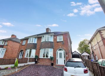 Thumbnail 3 bed semi-detached house for sale in Sandon Road, Longton, Stoke-On-Trent