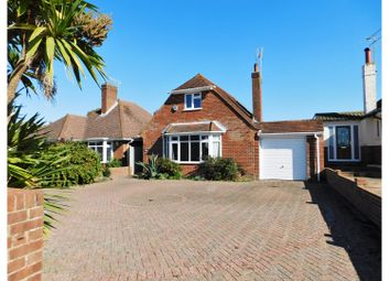 Thumbnail 3 bed detached bungalow for sale in Compton Avenue, Goring By Sea