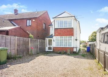 Thumbnail 3 bed detached house for sale in Lowestoft Road, Worlingham, Beccles