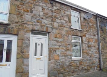 Thumbnail 2 bed terraced house to rent in Tynewydd Row, Ogmore Vale, Bridgend