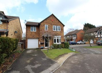 Thumbnail 4 bed detached house for sale in Laburnum Road, Winnersh