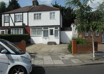 Thumbnail 3 bed semi-detached house for sale in Ravenor Park Road, Greenford, Middlesex