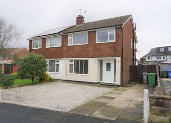 Thumbnail 3 bed semi-detached house for sale in Thirlmere Road, Manchester