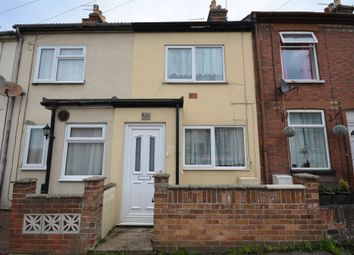 Thumbnail 2 bedroom terraced house for sale in Kent Road, Lowestoft