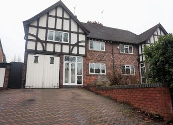 Thumbnail 4 bed semi-detached house for sale in Swanshurst Lane, Moseley, Birmingham