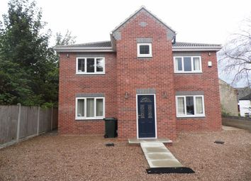 Thumbnail 4 bed detached house to rent in Chapel Hill, Askern, Doncaster