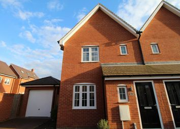 Thumbnail 3 bedroom semi-detached house to rent in Chamberlain Way, Shortstown, Bedford
