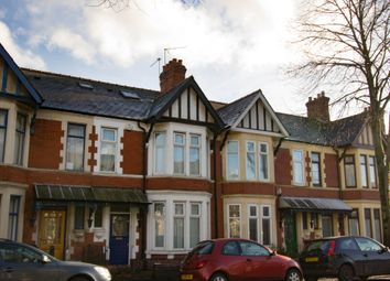 Thumbnail 4 bedroom terraced house to rent in Courtenay Road, Splott, Cardiff