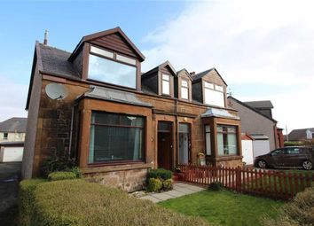 Thumbnail 3 bed semi-detached house for sale in Bawhirley Road, Greenock, Renfrewshire