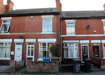 Thumbnail 3 bed terraced house to rent in Vincent Street, Derby, Derbyshire