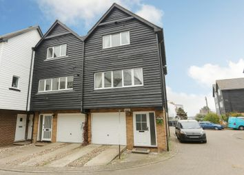 Thumbnail 3 bed town house for sale in Island Wall, Whitstable